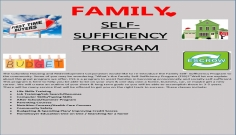Family self sufficieny program